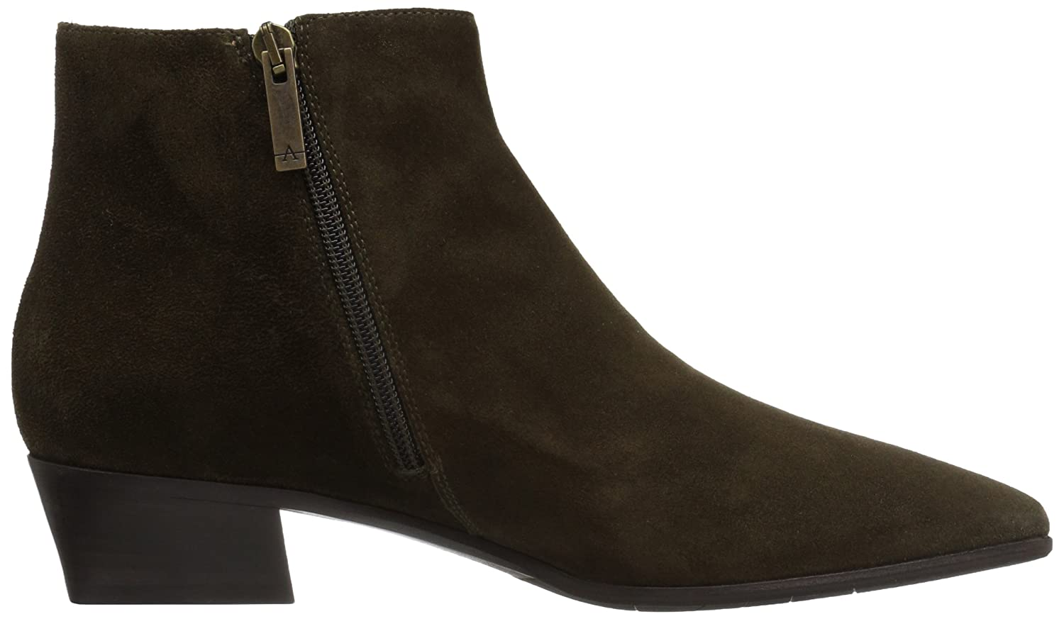 Aquatalia Boot Women's Fire Suede Ankle Boot Aquatalia B06WVBFY5Y 7.5 M US|Olive 11a225