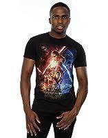 Star Wars Men's Force Awakens Poster T-Shirt