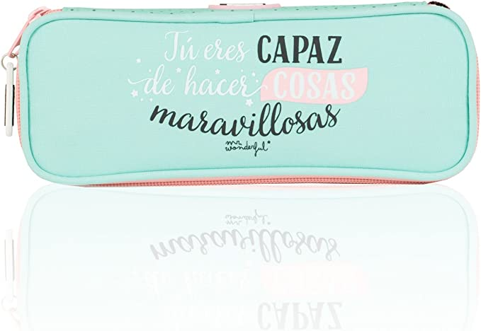 Mr. Wonderful - Portatodo, 22 x 5 x 8 cm (SAFTA 821556752): Amazon.es: Equipaje