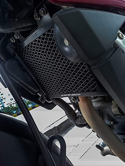 Motofusion Radiator Guard - Bajaj Pulsar 200NS (Black