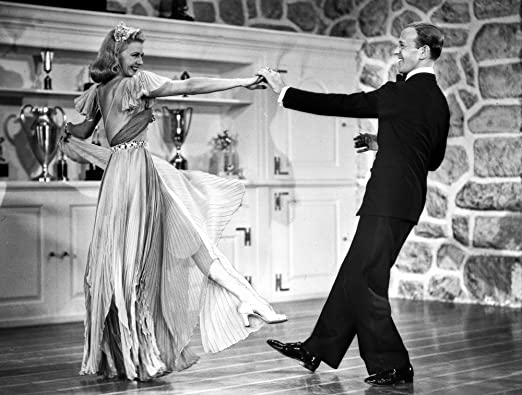 Amazon Com Fred Astaire And Ginger Rogers Dancing In Wooden Floor Photo Print 10 X 8 Home Kitchen