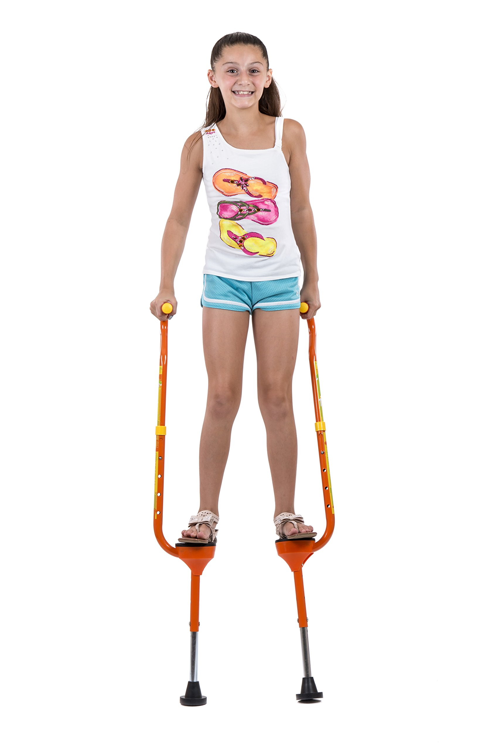 Flybar(R Maverick Small Stilts - Yellow (Weight Limit 190 lbs) by Flybar (Image #1)