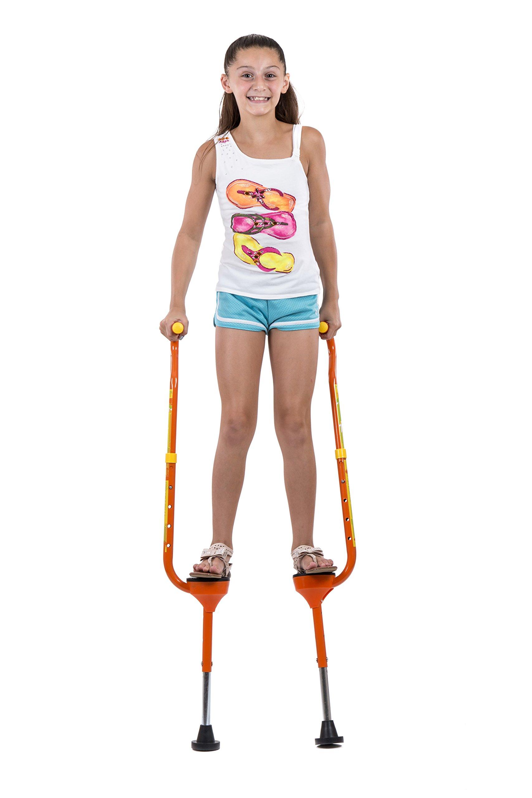 Flybar(R Maverick Small Stilts - Yellow (Weight Limit 190 lbs)