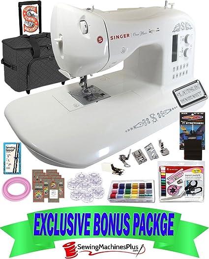 40 VALUE SINGER ONE PLUS SEWING MACHINE AND BONUS PACK Amazonca Cool Singer One Plus Sewing Machine