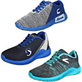 Earton Men Combo 3 Pair Sports Running Shoes