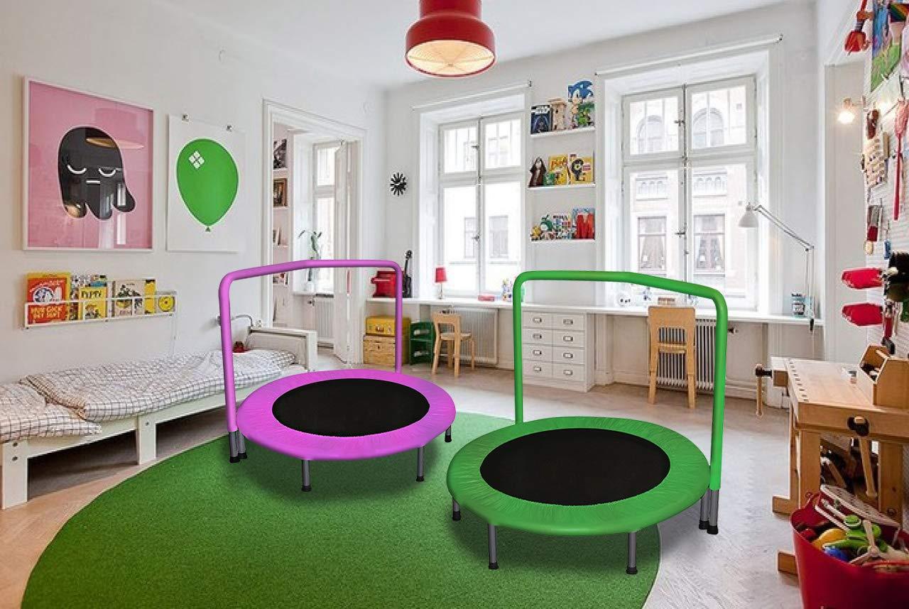 Amazon.com: JumJoe R - Cama elástica para niños con asa ...