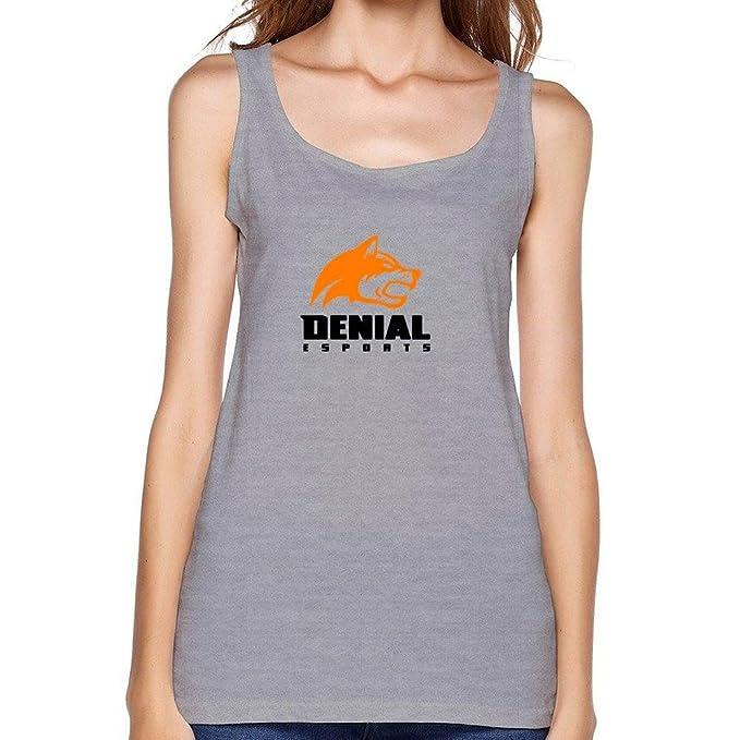 chengxingda denegación de la mujer Esports Logo camiseta de tirantes: Amazon.es: Ropa y accesorios