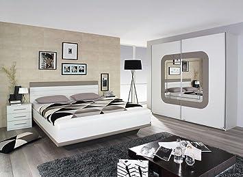 Schlafzimmer Bodensee Weiß Hochglanz Modern Komplett