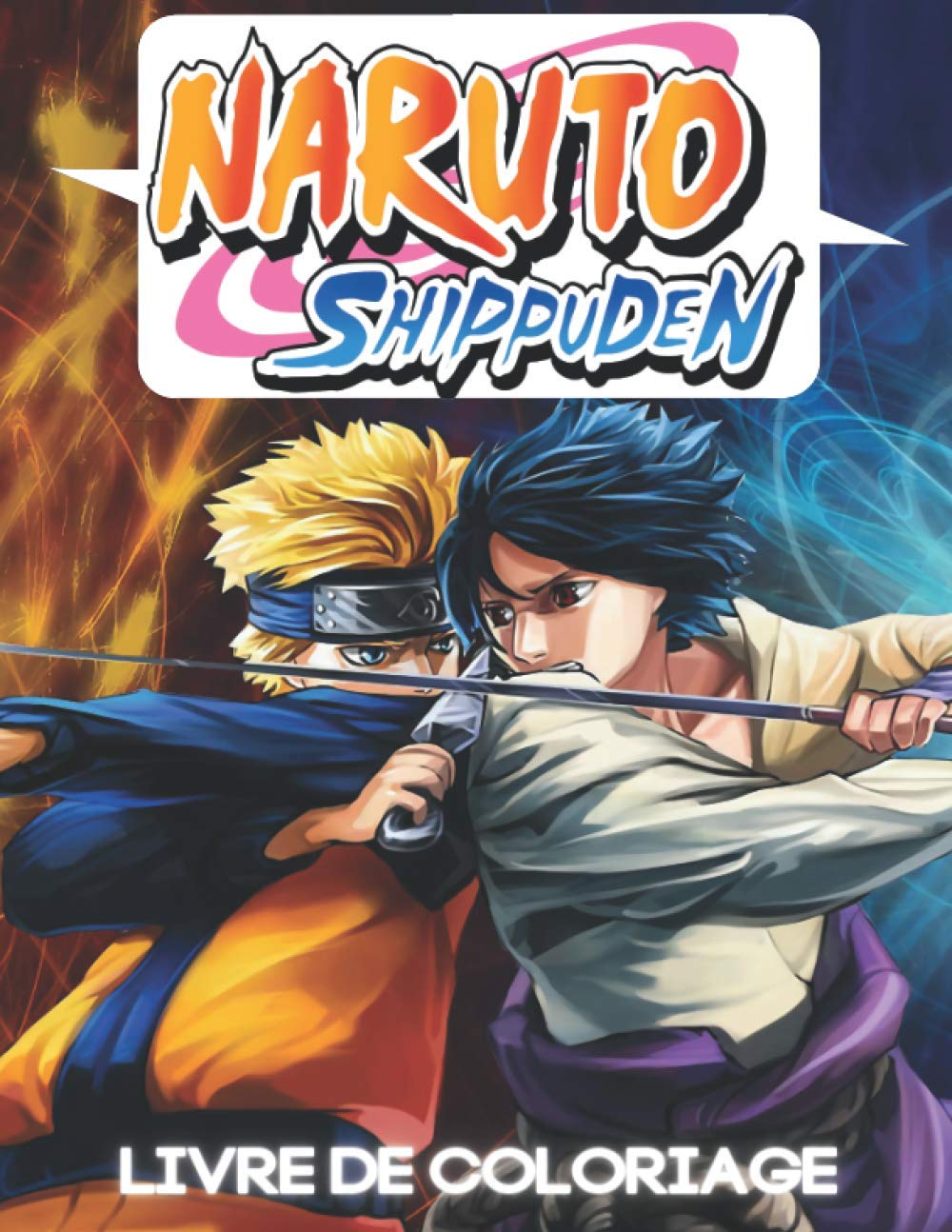 Naruto Shippuden Livre De Coloriage Naruto Shippuden Livre A Colorier Pour Enfants Et Adultes 35 Hd Unique Dessin A Colorier De Naruto Sasuke Et D Autres Haute Qualite Amazon Ca Books Pro Coloring