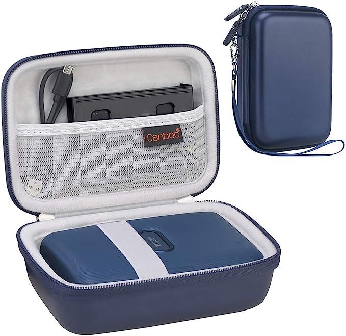 Canboc Shockproof Carrying Case Storage Travel Bag for Kodak Smile Instant Digital Printer /& Kodak PRINTOMATIC Digital Instant Print Camera Protective Pouch Box Black