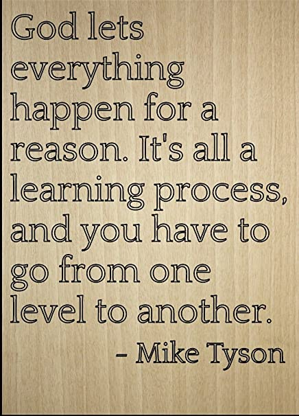 Amazoncom God Lets Everything Happen For A Reason Quote By