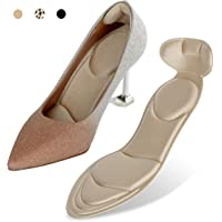 Heel Cushion Inserts - Heel Grips & Shoe Pads for Women-Heel Pads Non-Slip Sponge Insole 2 in 1