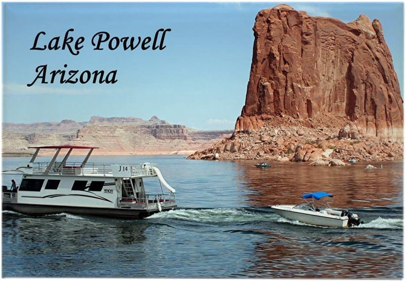CafePress – Lake Powell, Arizona, Estados Unidos (etiqueta) 1 ...