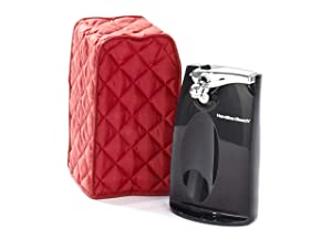 CoverMates – Can Opener Cover – 5W x 5D x 10H – Diamond Collection – 2 YR Warranty – Year Around Protection - Red