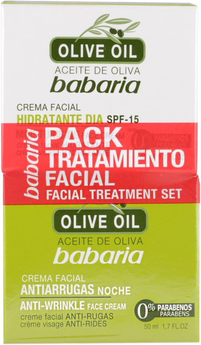 Babaria Tratamiento Facial Aceite de Oliva: Amazon.es: Belleza