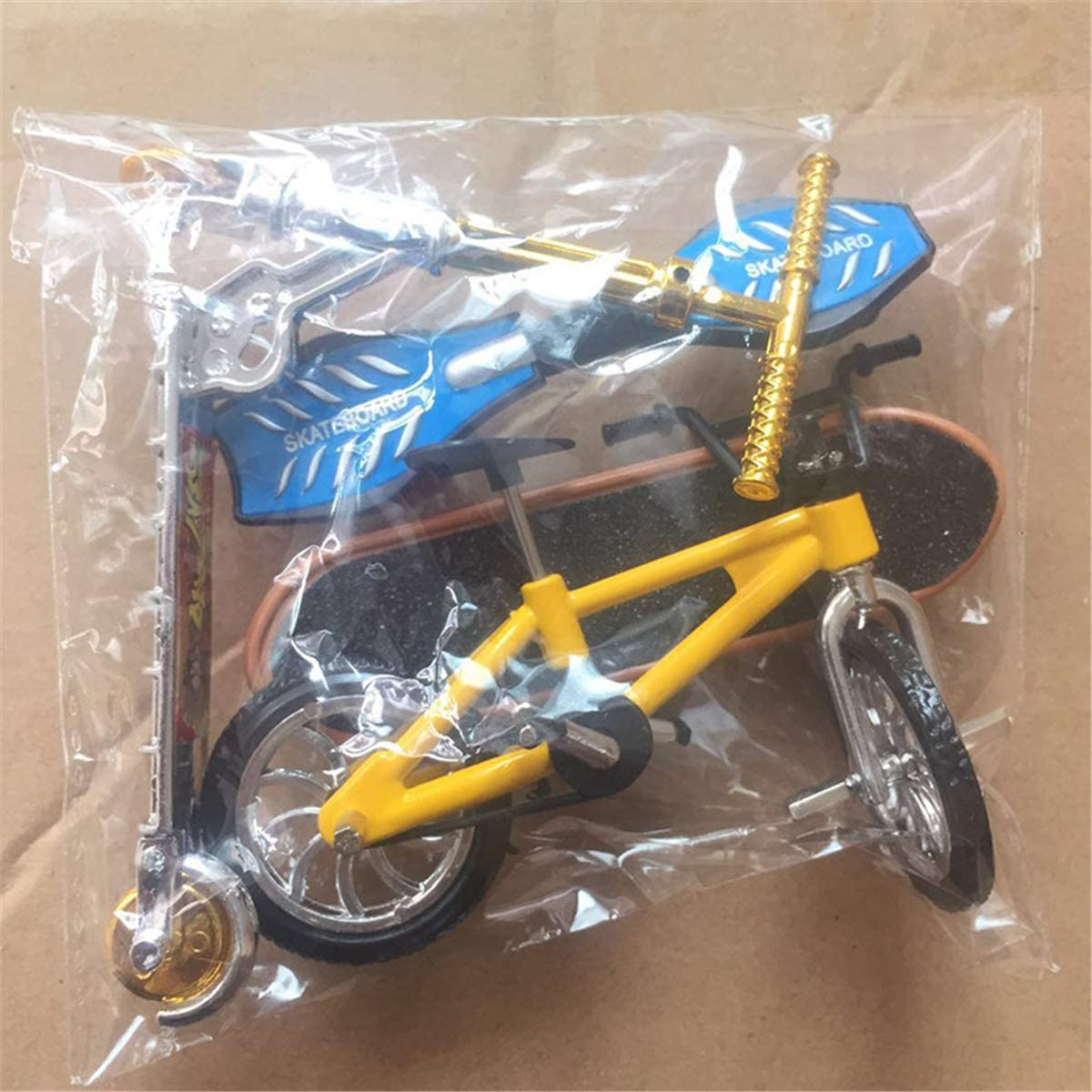 Keepart Mini Scooter Two Wheel Scooter Childrens Educational Toys Finger Scooter Bike