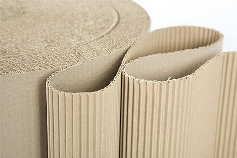 Priory Direct Rollos de Cartón en Marrón Corrugado Biodegradable y ...