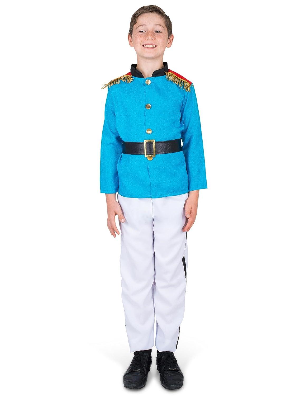 Generique - Disfraz su alteza el príncipe para niño 5-6 años (116 ...