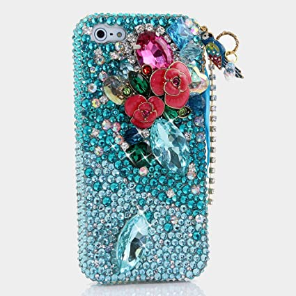 low priced a4330 8eb37 BlingAngels® 3D Luxury Amazon Fire Phone Bling Case Cover Faceplate  Swarovski Crystals Diamond Sparkle bedazzled jeweled Design Back Snap-on  Hard ...