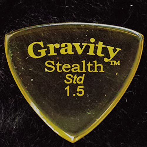 Gravity Guitar Picks Stealth Standard