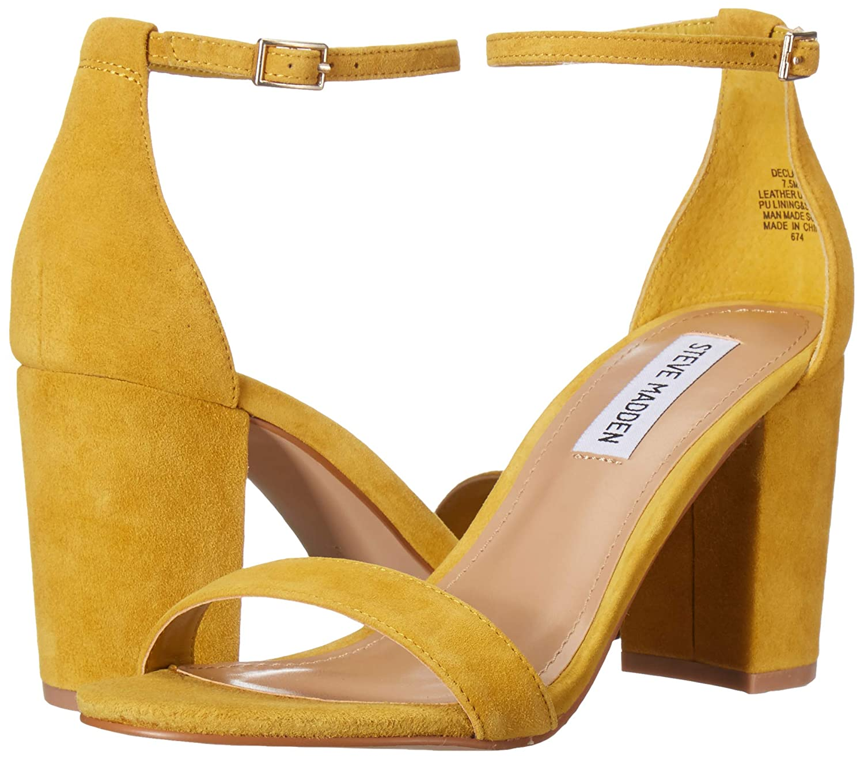 Steve Madden Womens Declair Heeled Sandal