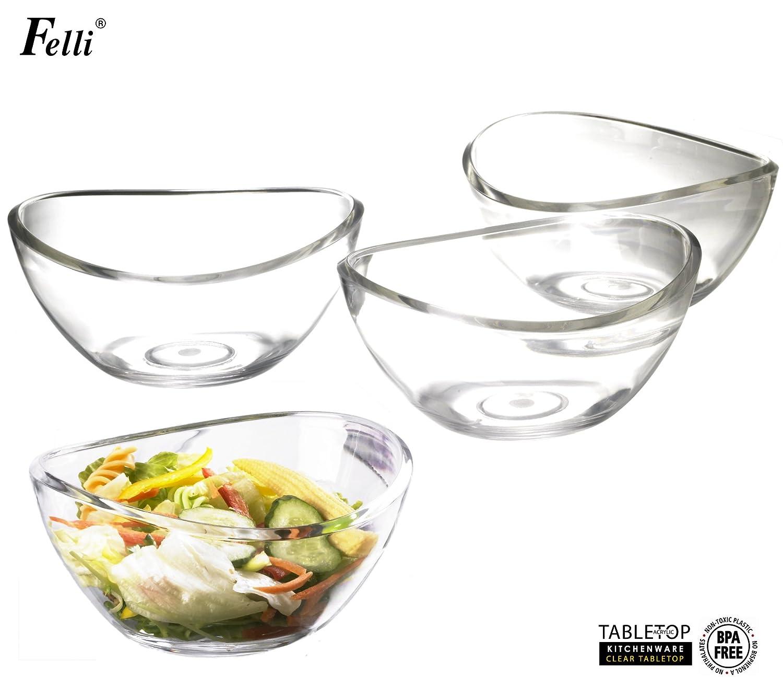 Felli- Crystal clear acrylic 6.5