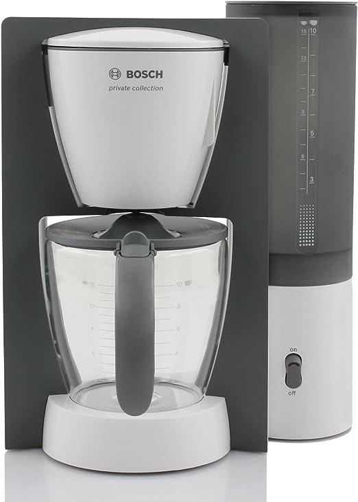 Bosch TKA6001V - Cafetera de goteo, 1100 W, 10/15 tazas, 1.25 ...