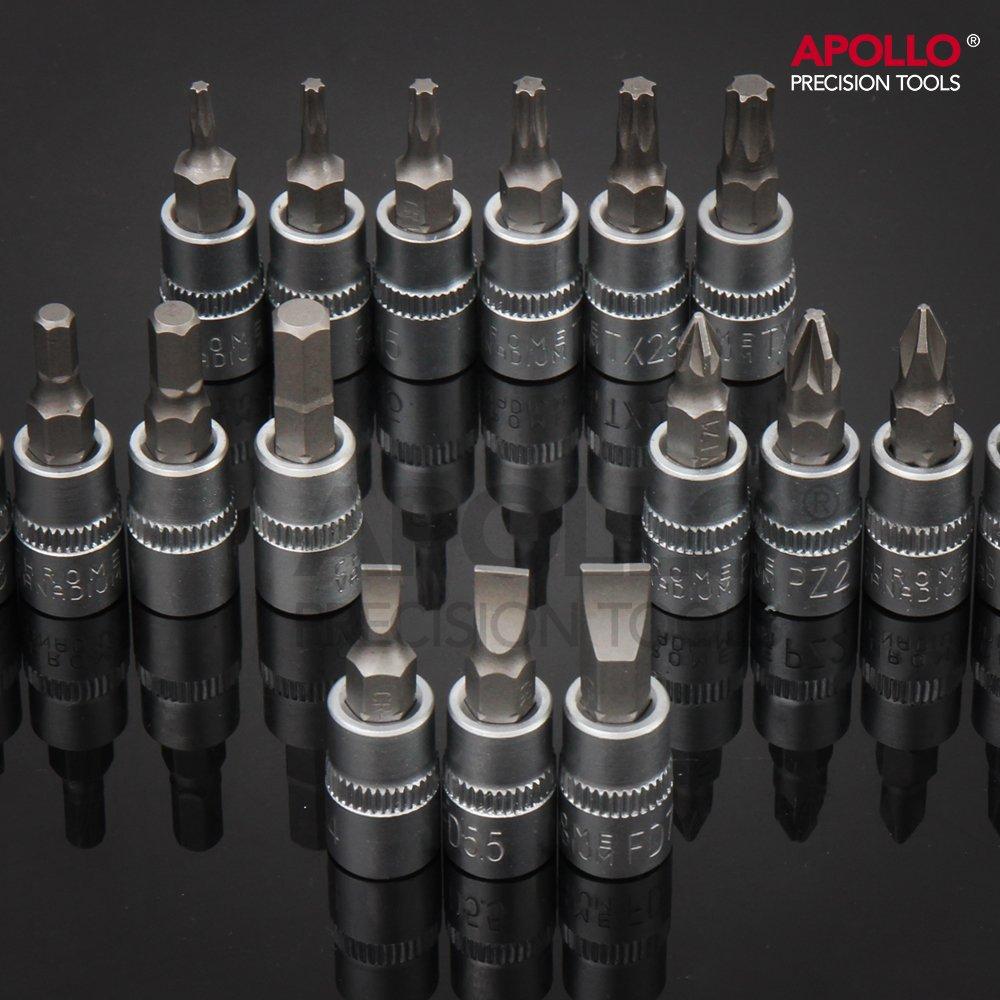 "Socket Bit Set /& Accessories 1//2/"" Drive Metric Sockets Including Spark Plug Socket Sizes Hi-Spec 94pc Extensive Chrome Vanadium Socket Set with 1//4/"" Car Mechanic Tool Kit in Strong PVC Case"