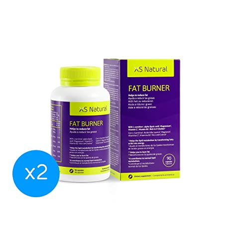 2 XS Natural Fat Burner: Cápsulas quemagrasas que ayudan a perder peso
