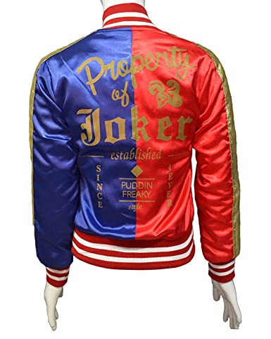 The American Fashion Red & Blue HQ Jacket for Sale