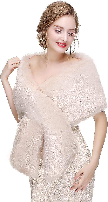 Limeng Women's Faux Fur...