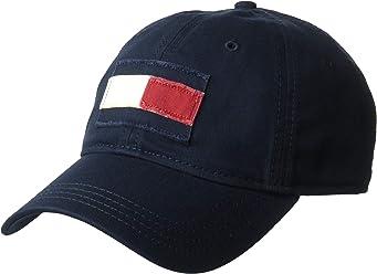 614f9b93 Tommy Hilfiger Men's Dad Hat Tommy Flag Cap Hat