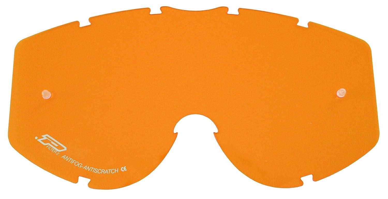 Progrip Vetro di ricambio per occhiali da moto Unica Trasparente