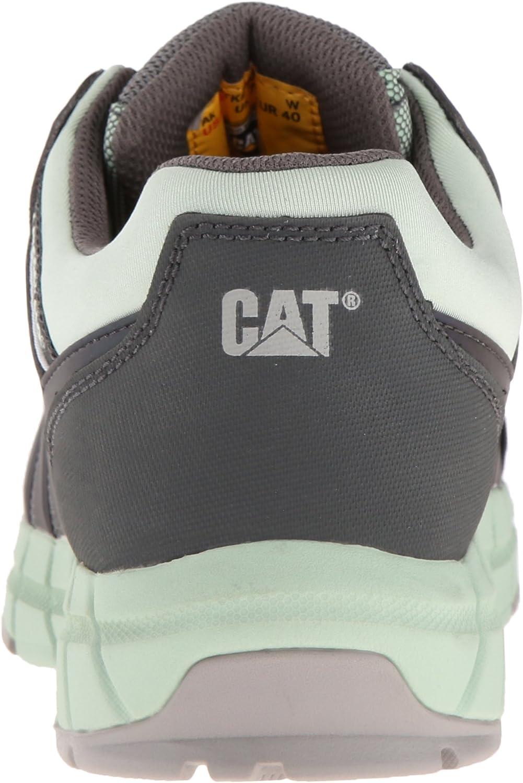 Caterpillar Women's Chromatic Comp Toe Work Shoe Cameo Green