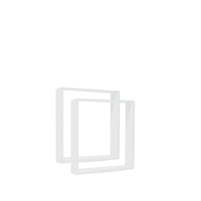 Industrial /& Wei/ß alle Gr/ö/ßen Schwarz 90*72 Industrial Bank DIY Esstisch Couchtisch einfache Montage Schreibtisch 2x Natural Goods Berlin TISCHKUFEN//-GESTELL R/ückenlehnenhalter Angebot