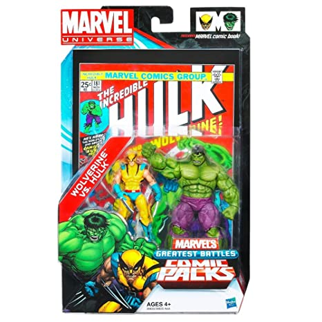 amazon com marvel universe greatest battles comic pack wolverine