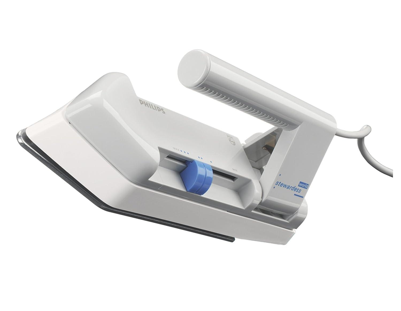 Philips HD1301/02 Reisebügler (Klappgriff, Reisebeutel, Eurostecker, 250 W) weiß 250 W) weiß Bügeleisen Bügeln Haushalt