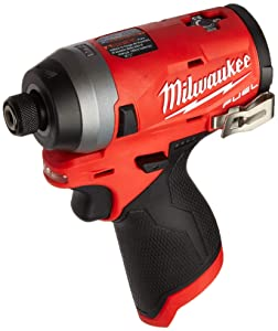 """Milwaukee Electric Tools MLW2553-20 M12 Fuel 1/4"""" Hex Impact Driver (Bare)"""