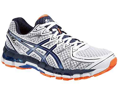 sneakers for cheap 57a01 07e57 Asics Gel-Kayano 20 Men s Running shoes White Royal Orange T3N2N, 14