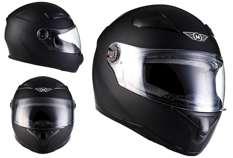 Amazon.es: MOTO X86 Matt Black · Urban Fullface-Helmet Scooter Casco Integrale Sport Moto motocicleta Cruiser Urbano · ECE certificado · visera incluido ...