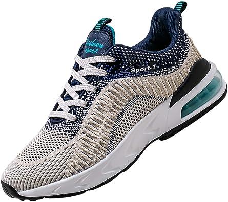 Unitysow Zapatillas de Atletismo para Hombre Calzados para Correr en Asfalto Aire Libre Calzado Deportivo Air Zapatos de Running Zapatos para Caminar Sneakers 39-45EU: Amazon.es: Zapatos y complementos