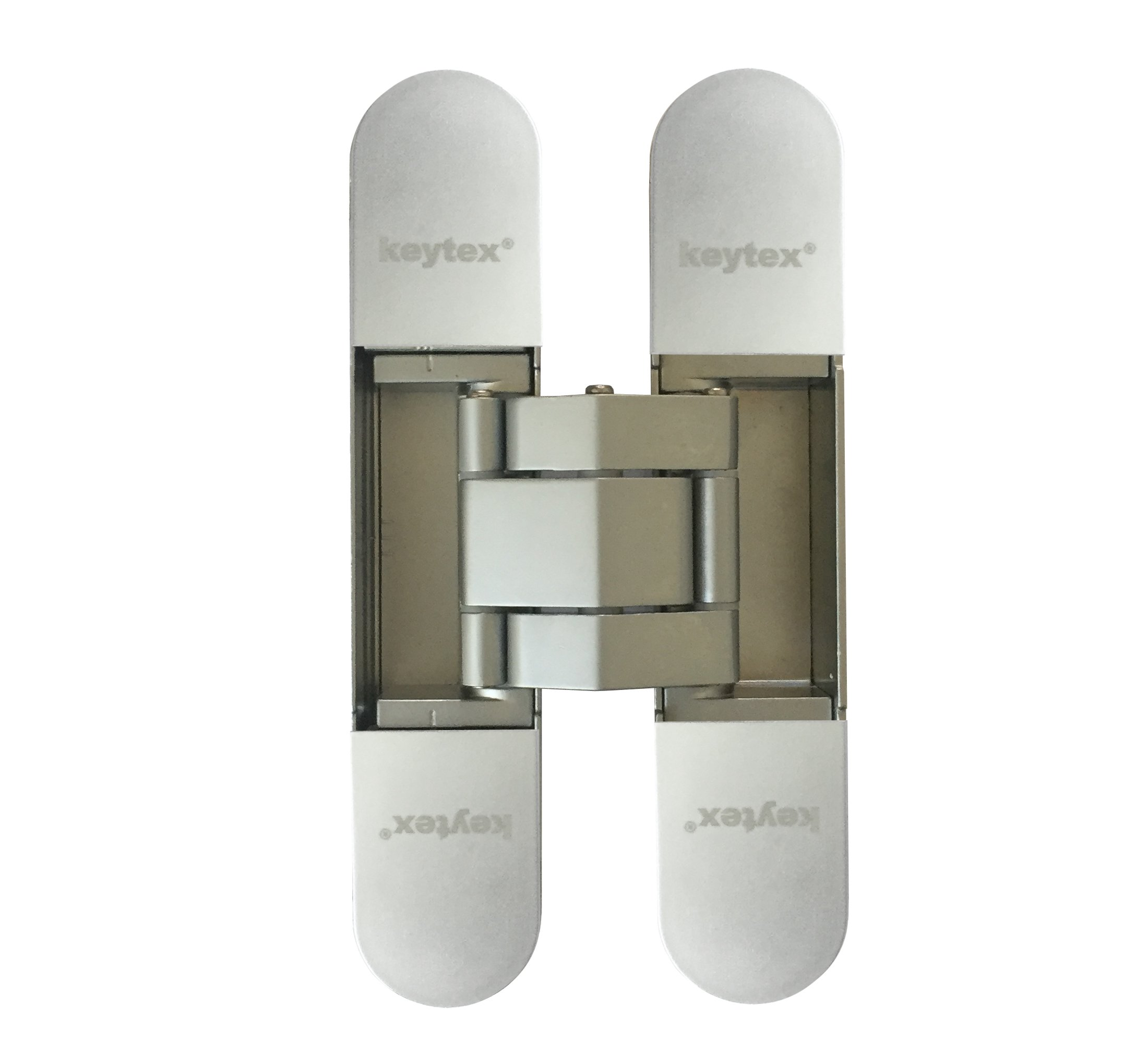 KT3D-140 Invisible Hinge, Set of Two(2), Up to 132lbs. Doors, Concealed and Streamline Door Hinge, 3-D Adjustable (Up to 132lbs)