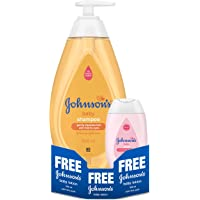Johnson's Baby No More Tears Shampoo, 500ml with Free Baby Lotion, 100ml
