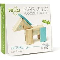 Tegu Robo Juego de Bloques de Madera magnéticos