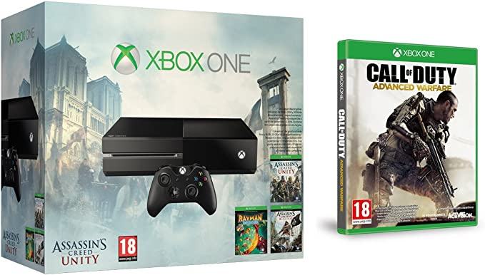 Xbox One - Consola Sin Kinect + Call of Duty AW + Assassins Creed ...