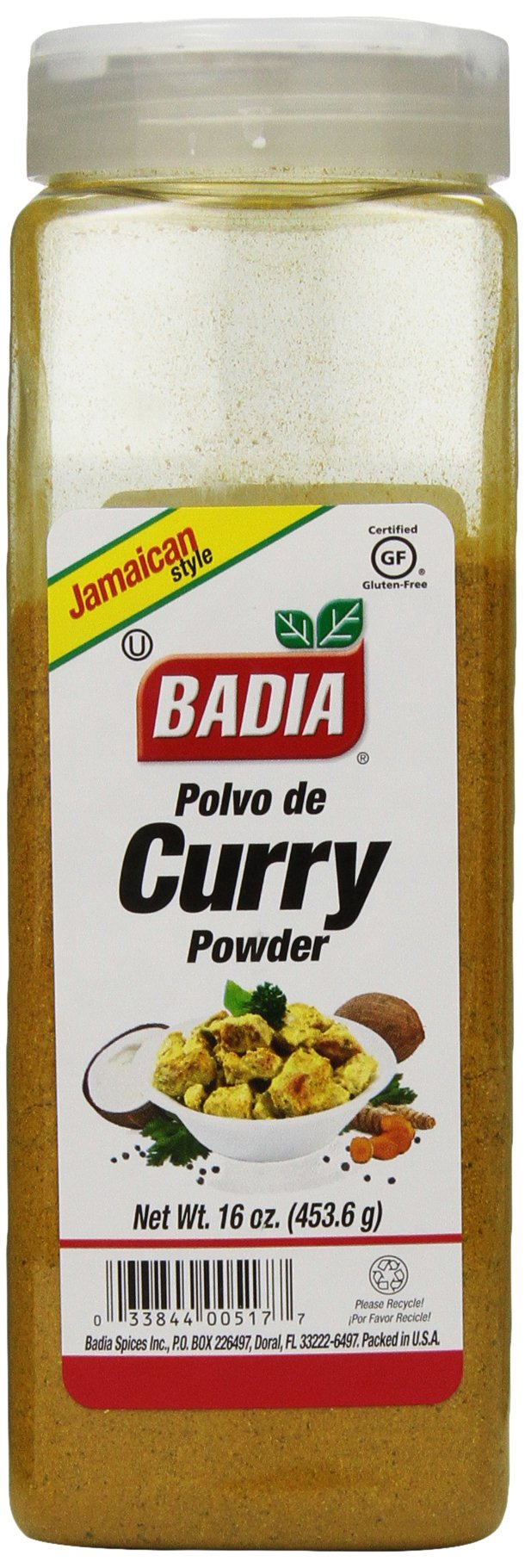 Badia Spices inc Curry Powder, 16-Ounce (Pack of 3)
