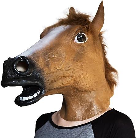 Testa Di Cavallo Nel Letto.Maschera Da Testa Di Cavallo Amazon It Casa E Cucina