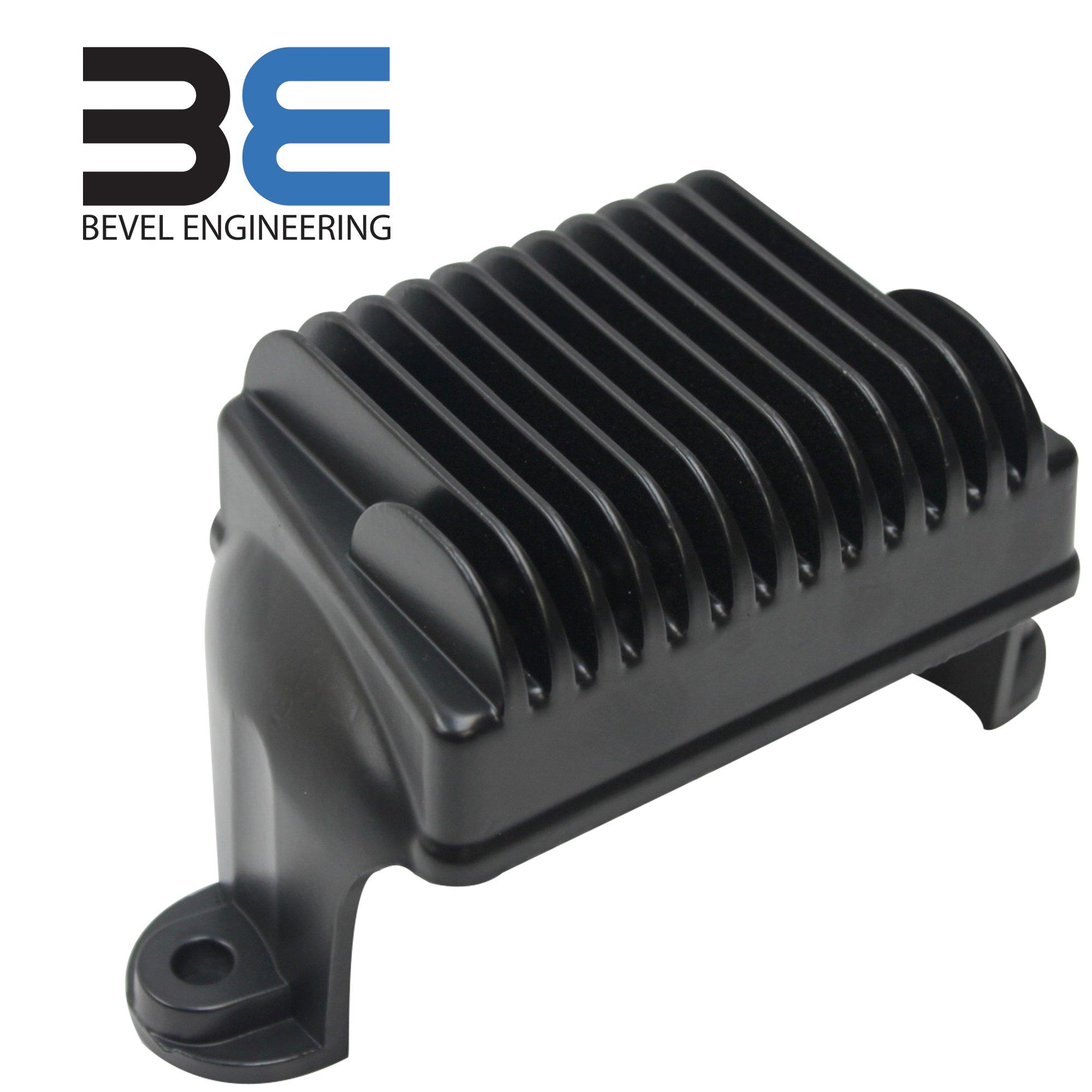 Bevel Engineering Upgraded Voltage Rectifier Regulator for 09-15 Harley Davidson Touring Models Replaces 74505-09 74505-09a
