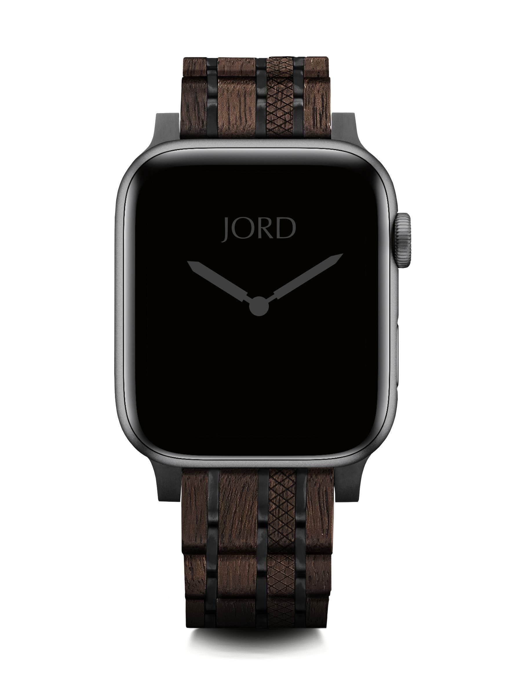JORD Compatible Apple Watch Band 42mm/44mm - 100% Natural Koa Band