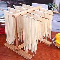 Golden.Y Pâtes Pliables en Bois Séchoir à Spaghetti Séchoir à pâtes Séchoir à Spaghetti Pliable, Support de séchage des Nouilles.